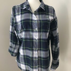 j.crew plaid shirt